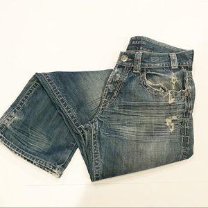 MEK Denim Helsinki Distressed Jeans